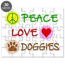 Peace-Love-Doggies Puzzle
