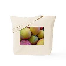 Mango Fruits close up Tote Bag