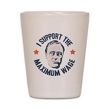 FDR Maximum Wage Shot Glass