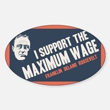 FDR Maximum Wage Decal