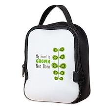 my food Neoprene Lunch Bag