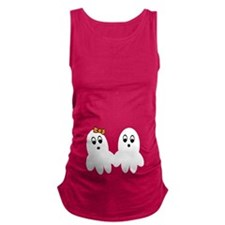 Ghost Twins Maternity Tank Top