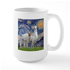 Starry Night - Llama Mama-Baby Mugs