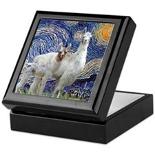 Starry Night - Llama Mama-Baby Keepsake Box