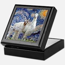 Starry Night - Llama Mama-Baby Keepsake Box