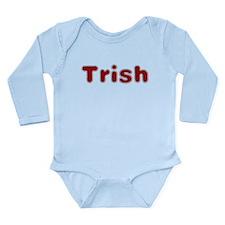 Trish Santa Fur Body Suit