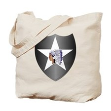SSI - 2nd Infantry Division Tote Bag
