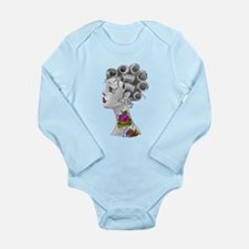 0-24 months Long Sleeve Infant Bodysuit (W)