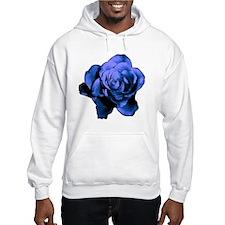 Cobalt Rose Hoodie