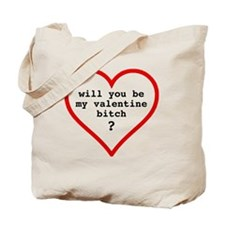 Valentine's day t-shirt - black text Tote Bag