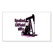 Spoiled Oilfield Decal and Stickers Decal