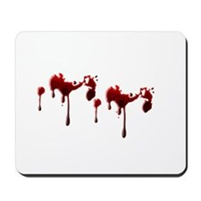 Blood Spatter Mousepad