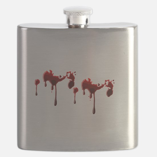 Blood Spatter Flask