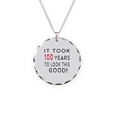 It Took 100 Birthday Designs Necklace