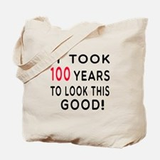 It Took 100 Birthday Designs Tote Bag