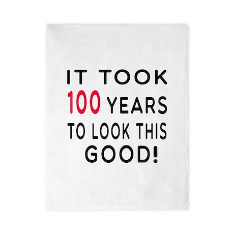 It Took 100 Birthday Designs Twin Duvet