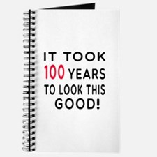 It Took 100 Birthday Designs Journal