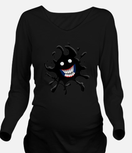 oil spill.png Long Sleeve Maternity T-Shirt