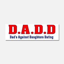 D.A.D.D Car Magnet 10 x 3