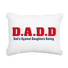 D.A.D.D Rectangular Canvas Pillow
