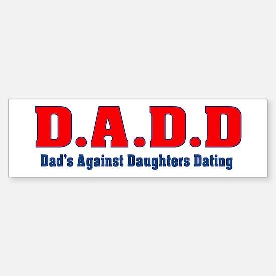 D.A.D.D Bumper Car Car Sticker