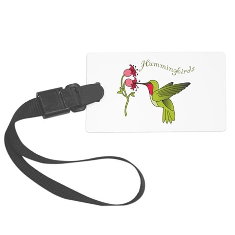 Hummingbirds Luggage Tag
