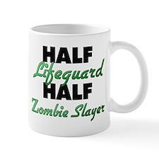 Half Lifeguard Half Zombie Slayer Mugs