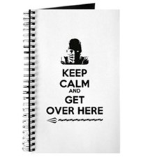 Keep Calm and Get Over Here Journal