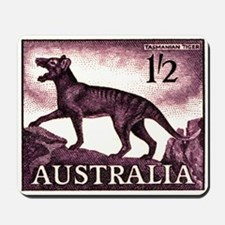1959 Australia Tasmanian Tiger Postage Stamp Mouse