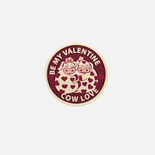 Cow Love Mini Button