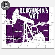 Roughnecks Wife- Purple Puzzle