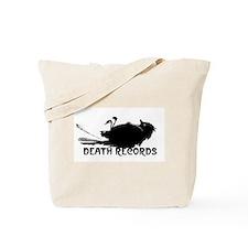 Death Records Tote Bag