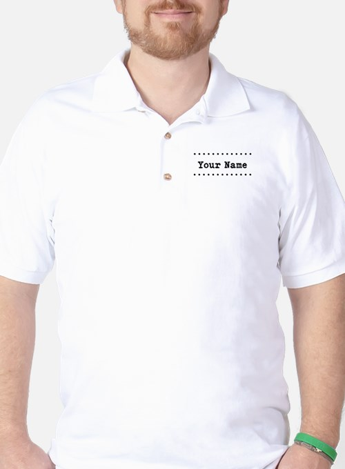Custom Name Golf Shirt