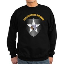 SSI - 2nd Infantry Division with Text Sweatshirt