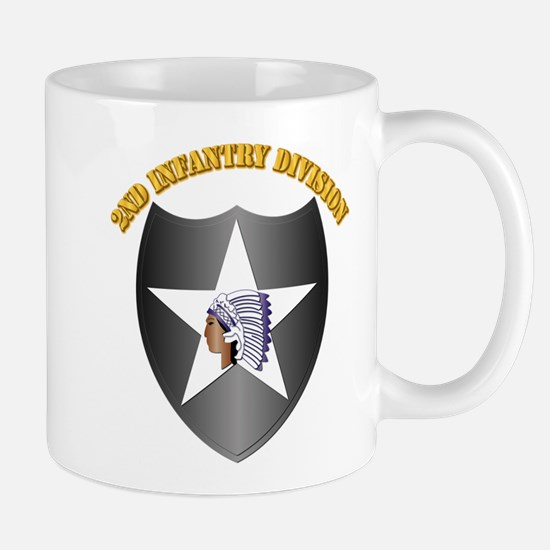 SSI - 2nd Infantry Division with Text Mug