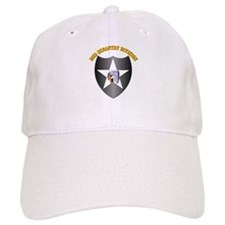 SSI - 2nd Infantry Division with Text Baseball Cap