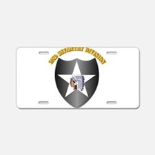 SSI - 2nd Infantry Division with Text Aluminum Lic