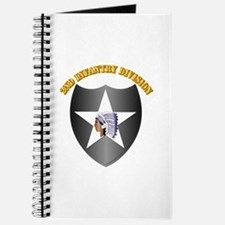 SSI - 2nd Infantry Division with Text Journal