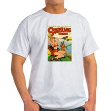Startling Comics #47 Ash Grey T-Shirt