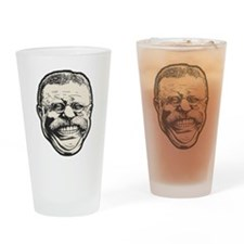 Teddy Grin Drinking Glass
