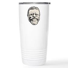 Teddy Grin Travel Coffee Mug