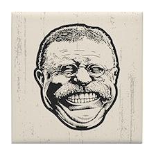 Teddy Grin Tile Coaster