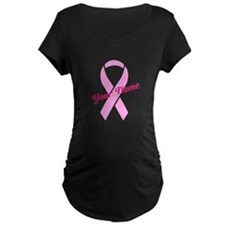 Custom Pink Ribbon T-Shirt