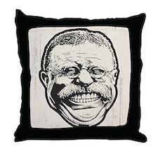 Teddy Grin Throw Pillow