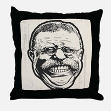 Teddy Grin Throw Pillow