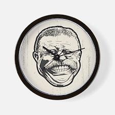 Teddy Grin Wall Clock