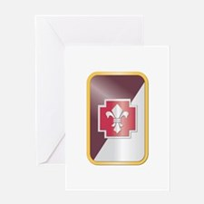 SSI - 62nd Medical Brigade Greeting Card