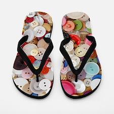 Button, Button Flip Flops