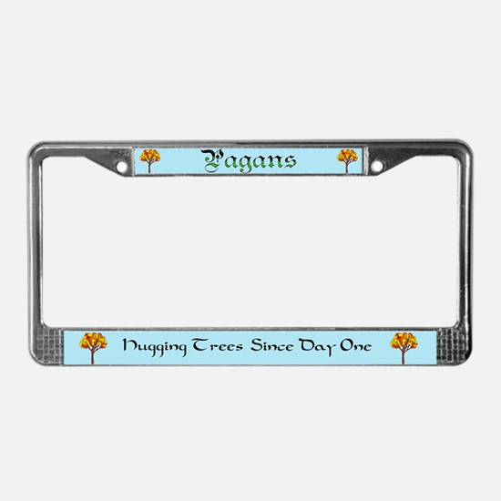 Unique Witch elements License Plate Frame