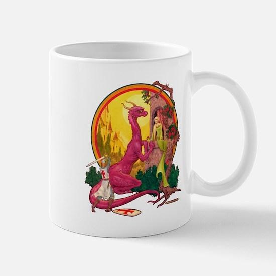 St.George and the Dragon Mug